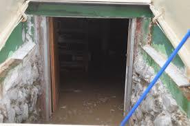mold after a flooded basement